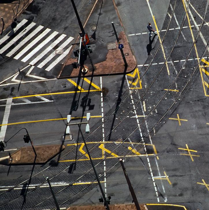 Franco Fontana New York, 1995 (dettaglio). Stampa Colour Fine Art Giclée, Hahnemuhle Baryta FB 350 gsm su Dibond. 136x200 cm Copyright Franco Fontana. Courtesy Franco Fontana Studio